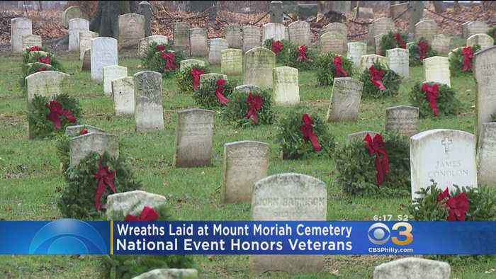 Wreaths Laid At Cemeteries Across Region, Nation To Honor Fallen Veterans