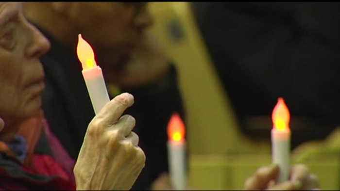 VIDEO: Vigil held for gun violence victims in Reading