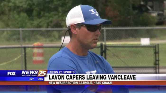 Lavon Capers leaving Vancleave to be new Resurrection Catholic head coach