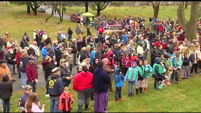 VIDEO: Wreaths Across America Pays Tribute to Late Veterans in Allentown