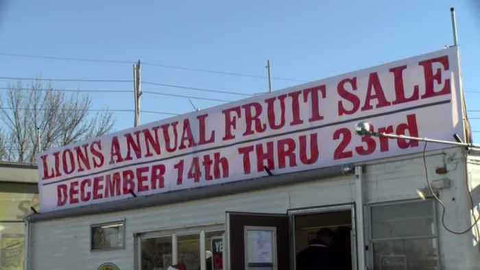 Fruit sale 2018