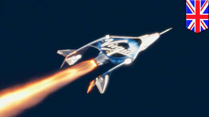 Virgin Galactic first to fly airplane in space