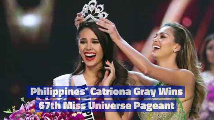 Philippines' Catriona Gray Wins 67th Miss Universe Pageant