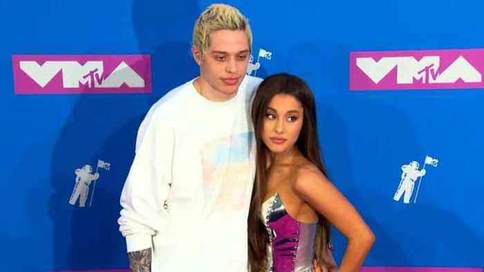 Ariana Grande Rushed to Help Pete Davidson After His Troubling Post