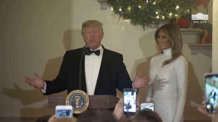 Presidential Trump And First Lady Melania Trump Host The Congressional Ball