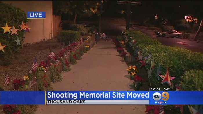 Thousand Oaks Shooting Memorial Site Moved