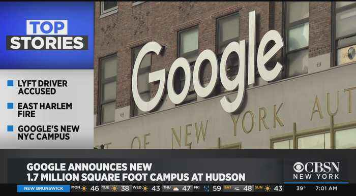 Google Plans New $1 Billion Campus In NYC