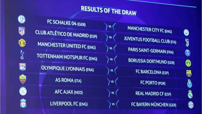 Champions League Round Of 16 Draw Is Set