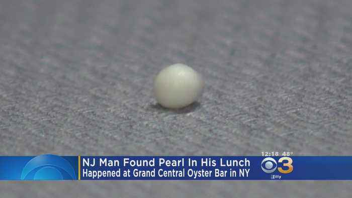 New Jersey Man Finds Pearl In Oyster At Bar In New York City