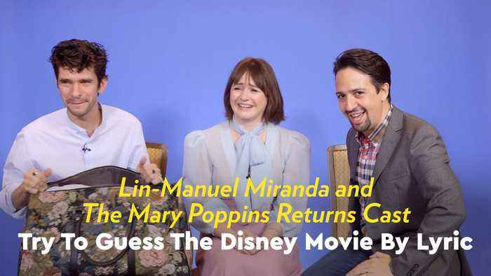 Watch Lin-Manuel Miranda Burst Into Song While Trying to Guess the Disney Movie by Lyric