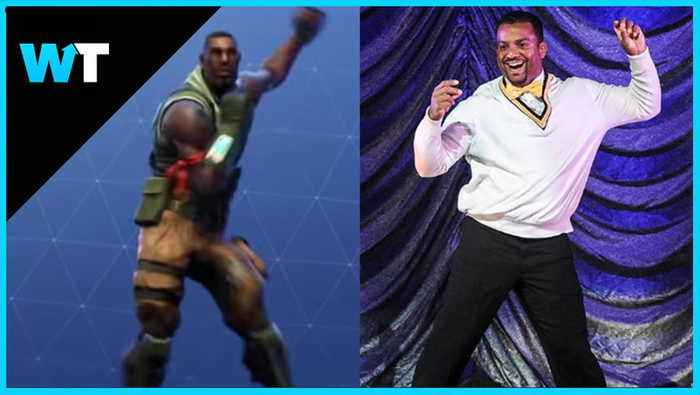 Fortnite SUED For RIPPING OFF Fresh Prince Dance