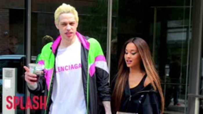 Ariana Grande Is Worried About Pete Davidson