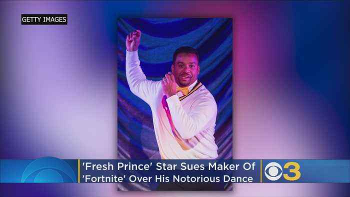 'Fresh Prince' Star Sues Maker Of 'Fornite' Over His Notorious Dance