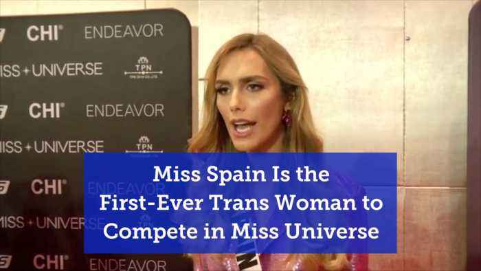 Miss Spain In Miss Universe Contest Is Transgender