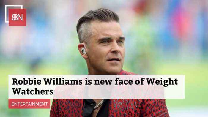 Robbie Williams Is The New Spokesperson For Weight Watchers