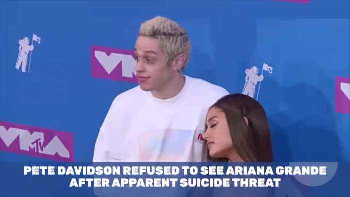 Pete Davidson Won't See Ariana Grande After Suicide Threat On Instagram