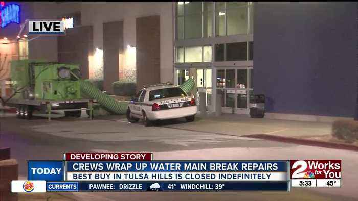Tulsa Hills Best Buy closed indefinitely after store floods