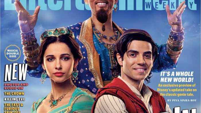 'Aladdin': First Look At Will Smith' As Genie