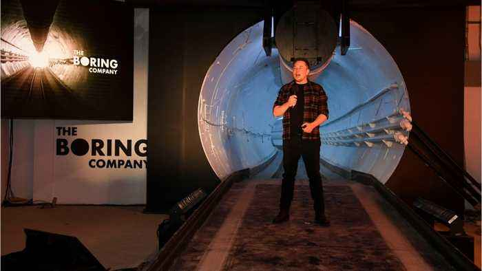 Elon Musk Unveils First Tunnel In L.A.