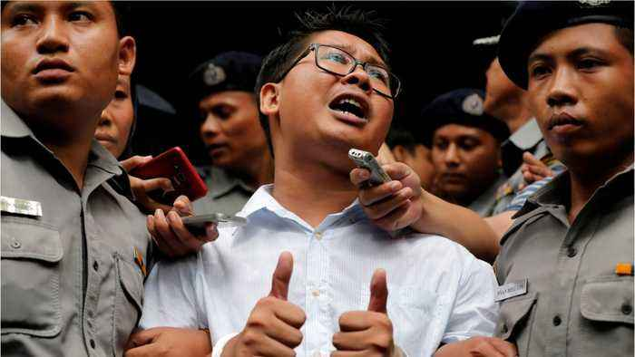 U.S. Government Speaks Out For Myanmar To Release Reuters Journalists