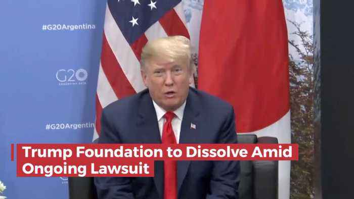 Trump Foundation Will Dissolve Amid Controversy And Legal Troubles