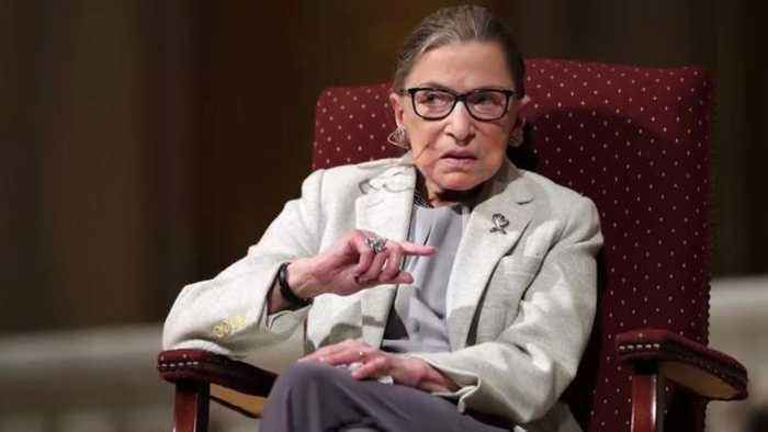 Justice Ruth Bader Ginsburg recovering from lung surgery
