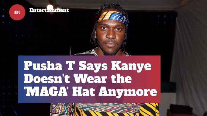 Apparently Kanye Is Done With His MAGA Hat