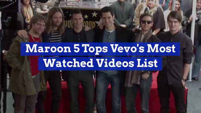Maroon 5 Videos Are Very Popular