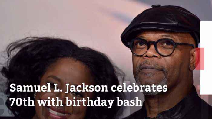 Samuel L Jackson Turns 70: Check Out His Birthday Party