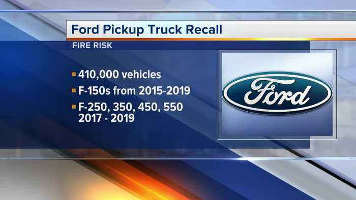 Fire risk forces Ford to recall more than 410K F-Series pickup trucks