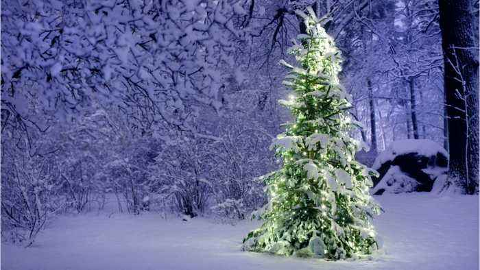 Gorgeous Places In America For A White Christmas