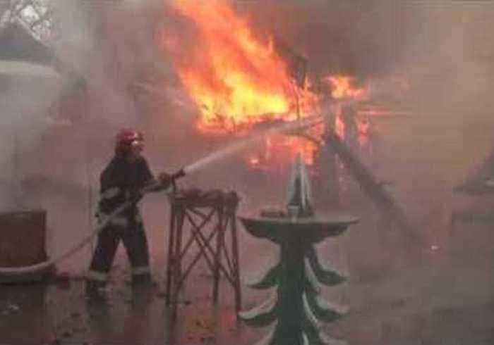 Injuries Reported Following Fire at Christmas Market in Ukraine