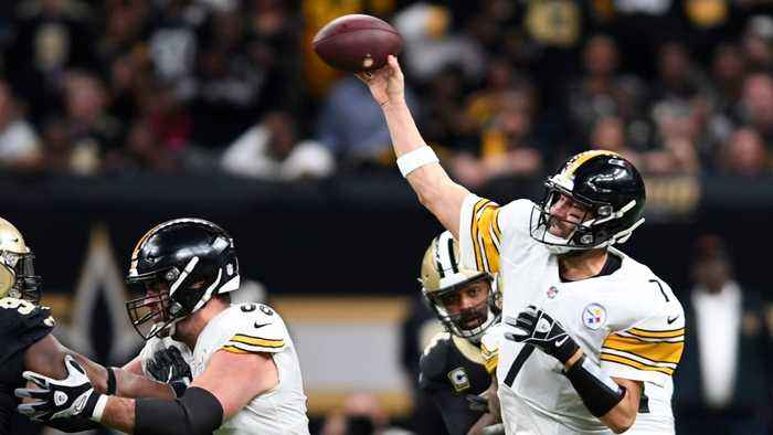 Pittsburgh Steelers Unsuccessfully Fake Punt Against New Orleans Saints