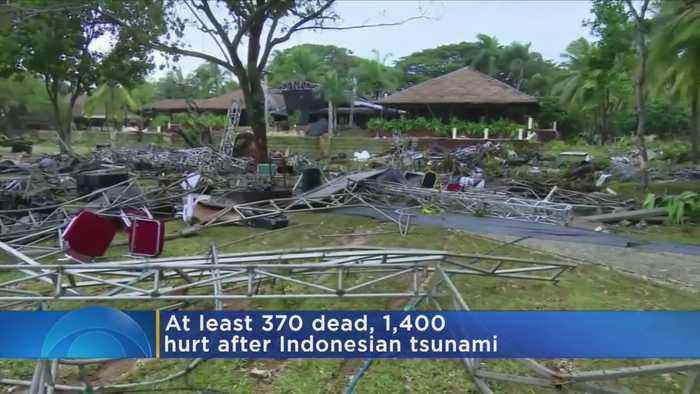 Indonesia Tsunami Death Toll Rises To At Least 370 People