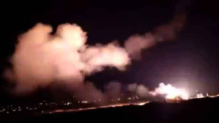 Syrian Air Defenses Intercept Israeli Missiles