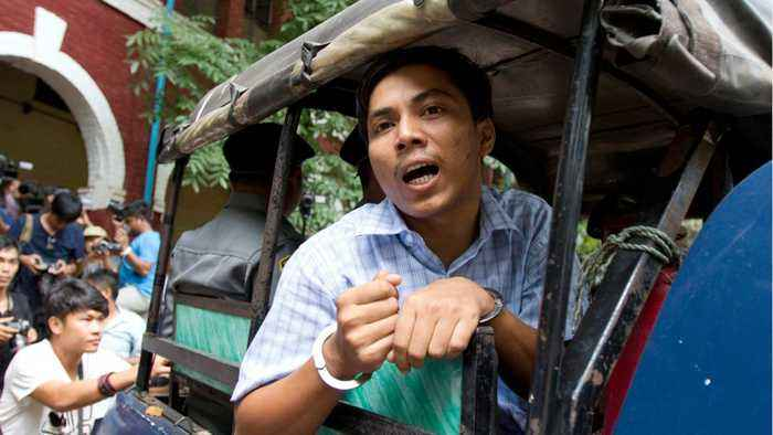 Myanmar Court Hears Appeal For Reuters Reporters