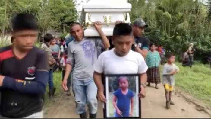 Funeral held for 7-year-old Guatemalan migrant girl, Jakelin Caal