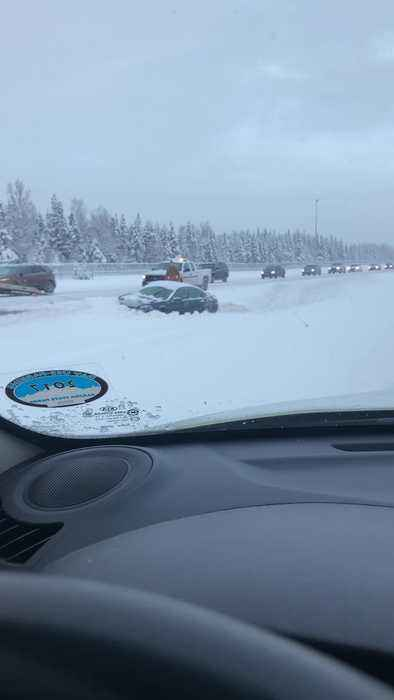 Over 21 Accidents on Snowy Glen Highway in Alaska