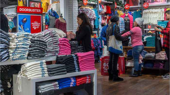 Americans Boost Sales Growth For Apparel Sales