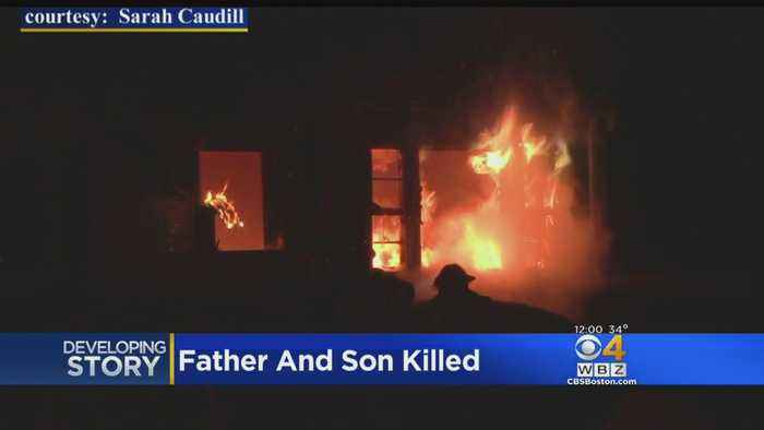 Avon House Fire Leaves Father, Son Dead On Christmas