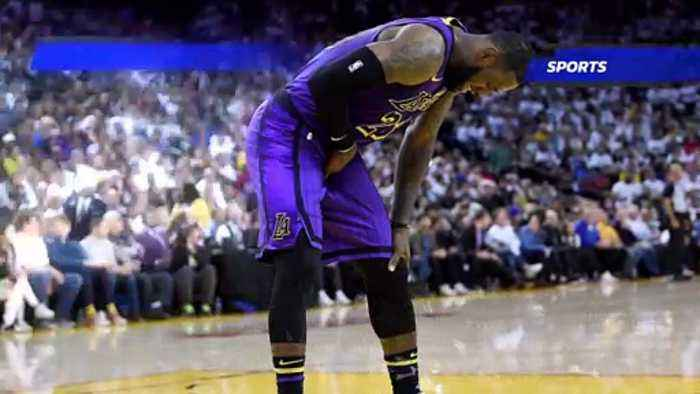 LeBron James May Miss Several Games Due to Groin Injury