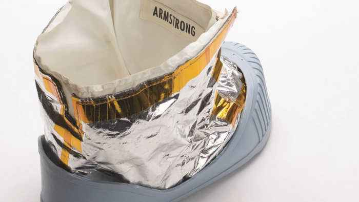 Out Of This World! Neil Armstrong Boot Prototype Sold For $49,000 At Auction