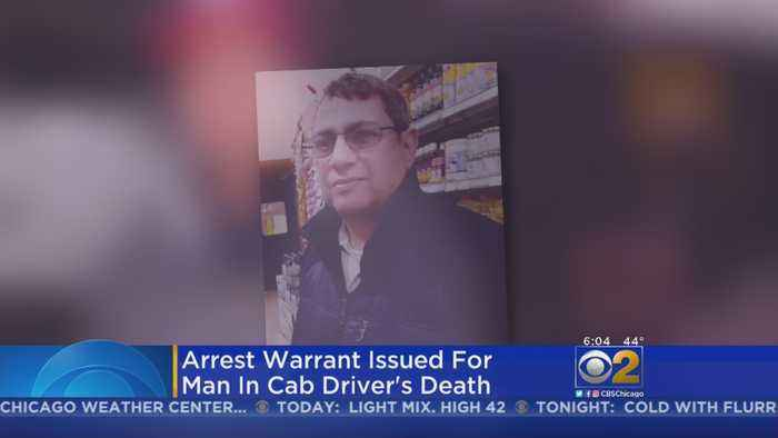 Arrest Warrant Issued In Cabbie's Murder; Suspect Is In China