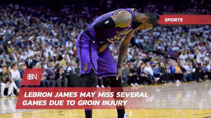 Lebron Is Out With Groin Pain