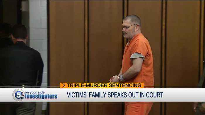 Man who murdered North Royalton mother and her 2 daughters sentenced to death