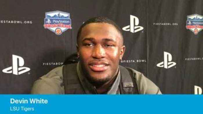 LSU's Devin White doesn't agree with UCF's national title claim