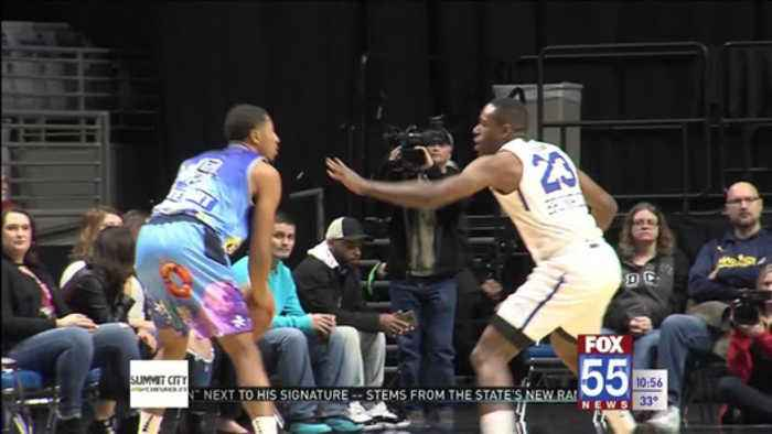 Blue Coats top Mad Ants Friday Night
