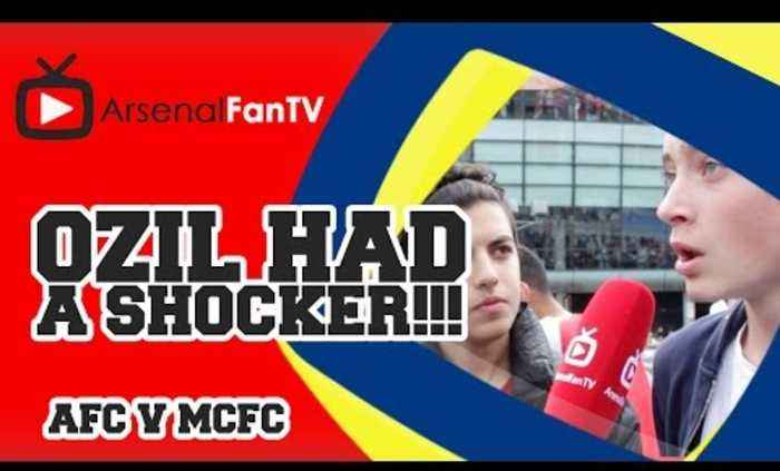 Ozil Had A Shocker!!! - Arsenal 2 Manchester City 2