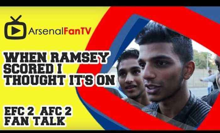 When Ramsey scored I thought it's on - Everton 2 Arsenal 2