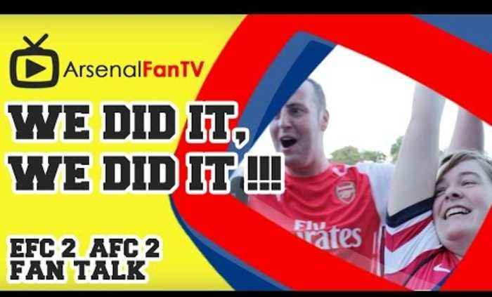We Did It, We Did It !!! - Everton 2 Arsenal 2